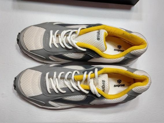 Zapatillas Signia Running Talle 43 Blancas Nuevas En Caja
