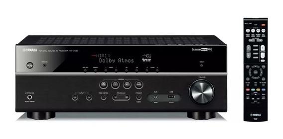 Receiver Yamaha Rx-v585bl Av De 7.2ch Musiccast C/nota