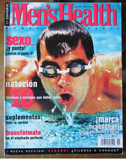Men´s Health 6 Revistas 25.00 C/u