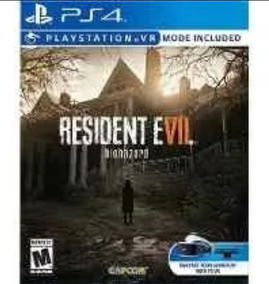 Resident Evil 7 Mass Effect Escolha Lacrado Ps4 Midia Fisica