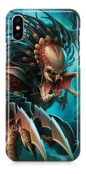 Kit Capa iPhone X - Predador E Pelicula