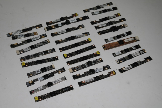 Lote Contendo 30 Webcams Para Notebooks