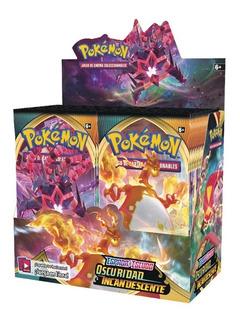 Display Pokemon Espada Y Escudo - Oscuridad Incandescente