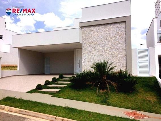 Casa Com 3 Suítes À Venda, 170 M² Por R$ 860.000 - Condomínio Chácara Ondina - Sorocaba/sp - Ca1450