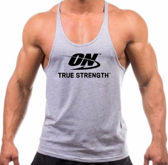 Regata Cavada Musculação O_n Optimum Para Treino