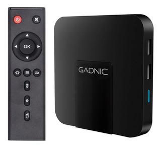 Tv Box Android Convertidor Smart Tv Mini Tv Combo Control 4k