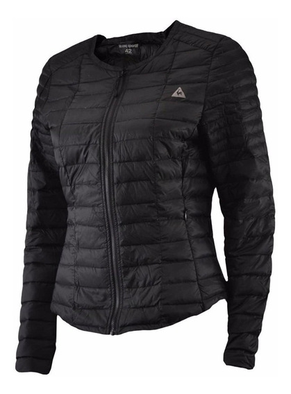 Campera Le Coq Sportif Pluma Light Jacket Negro Mujer