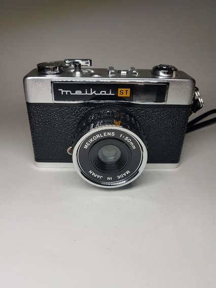 Câmera Analógica Meikai - Rara, Anos 60