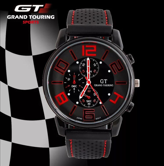 Relógio Masculino Importado Gt Touring Sport Militar Barato