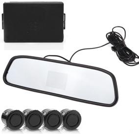 Sensor De Estacionamento Com Câmera De Ré E Retrovisor Suns