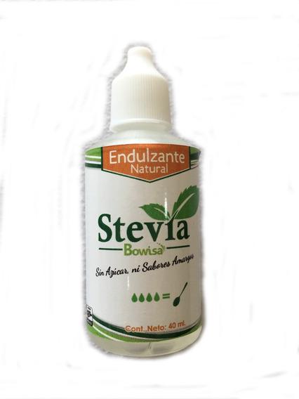 Stevia En Liquido Bowisa 35ml Se