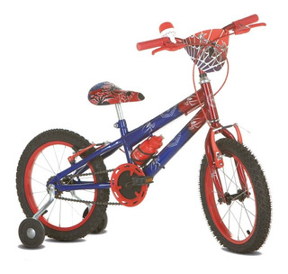Bicicleta Infantil Aro 16 Sport Bike Spider/homem Aranha