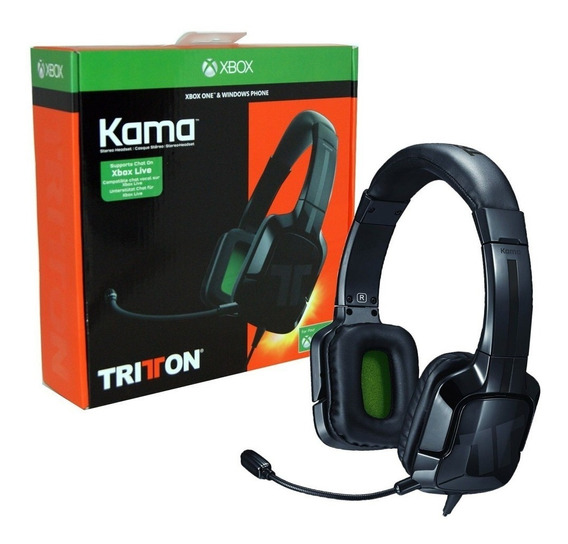 Headset Xbox One Ps4 Tritton Kama Com Fio - Preto