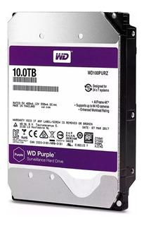 Disco Hdd 10tb Western Digital Purple Dvr Vigilancia