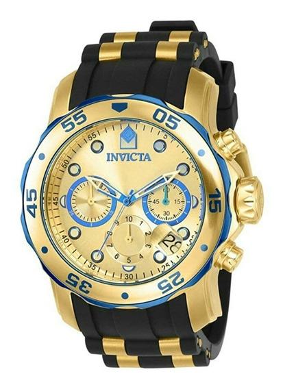 Reloj Invicta 17887 Pro Caballero Color Oro Original