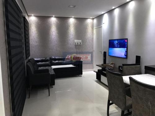Apartamento Garden Residencial À Venda, Vila Augusta, Guarulhos - Gd0007. - Ai7965