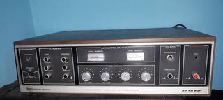 Amplificador De Sonido Entrada De Audio Y Micrófono