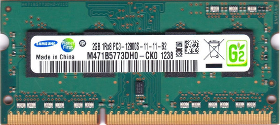 Memória Notebook Samsung 2gb Ddr3 M471b5773dh0-ck0 1219
