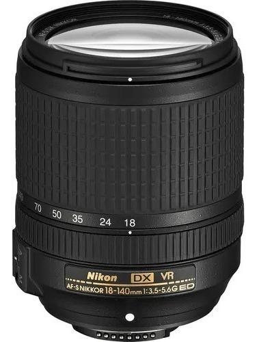 Lente Nikon Af-s Dx 18-140mm F/3.5-5.6g Ed Vr - Nova