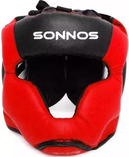 Cabezal Boxeo C/ Pomulo Y Menton Kick Box - Homologado Fab