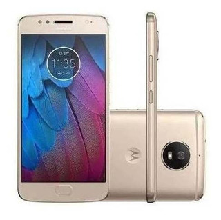 Motorola Moto G5 Xt1671 32gb Original Dourado + Nf