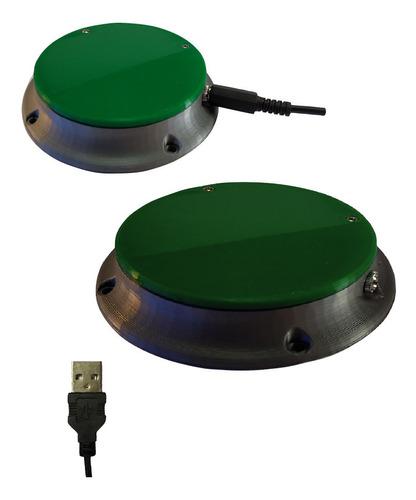 Pulsadores: Clic Izquierdo Usb + Clic Derecho Plug