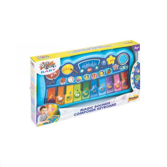 Teclado Magico Compositor Com Luz E Som 2079 - Yes Toys