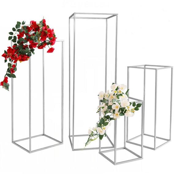 Set De Soportes De Flores Para Decoración De Bodas Xv Años