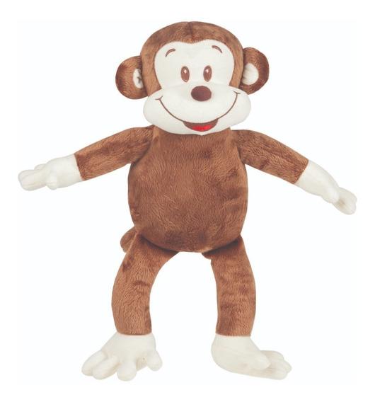 Macaco Mini De Pelúcia 30cm