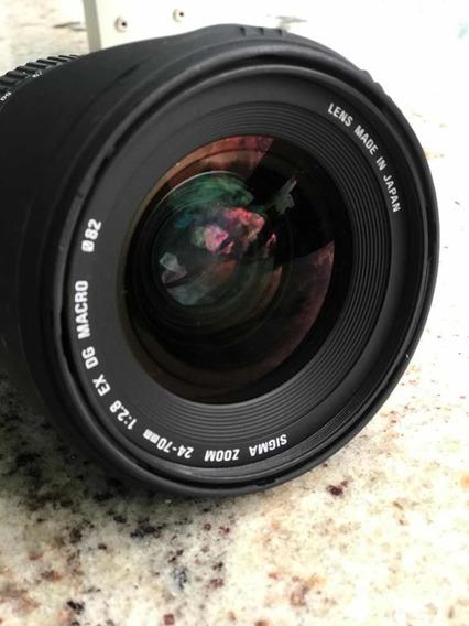 Lente Sigma 24-70mm F2.8 (canon)