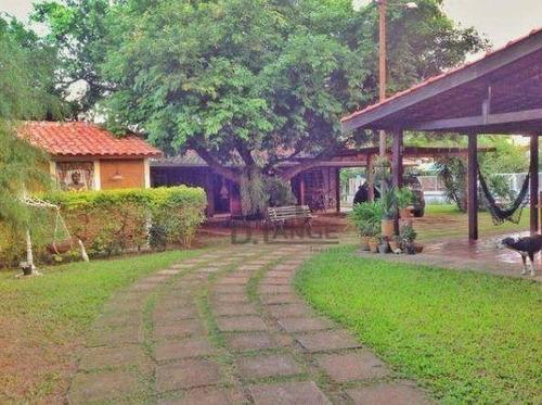 Chácara Com 3 Dormitórios À Venda, 1830 M² Por R$ 880.000,00 - Loteamento Chácaras Vale Das Garças - Campinas/sp - Ch0390