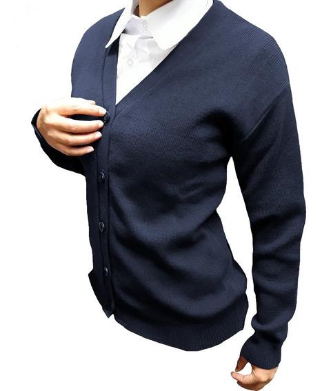Cardigan Colegial - Talles Adulto - Promo X3 Azzurra