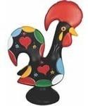 Galo De Barcelos Cerâmica Decoração Casa Cozinha Sala