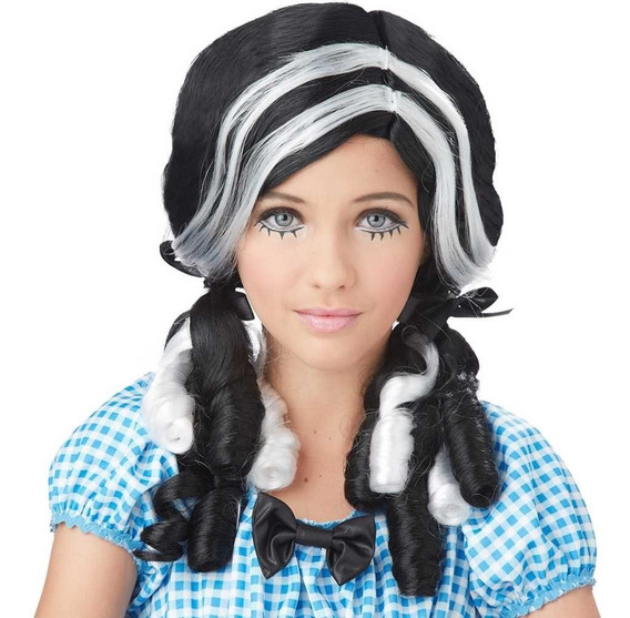Peluca Muñeca Curls Dama