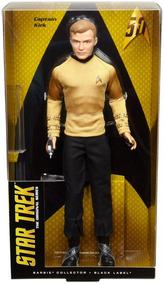 Boneca Barbie Collector Kirk Star Trek Dgw67