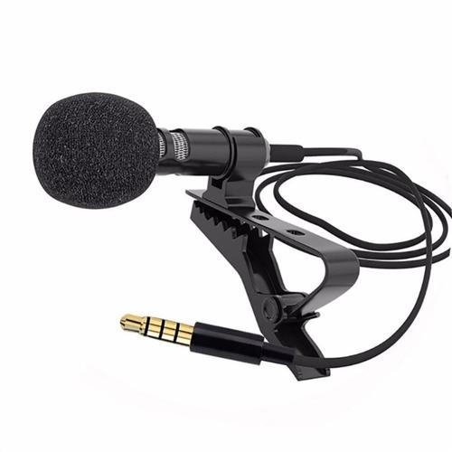 Micrófono De Solapa Condensador Omnidireccional, Celular/pc