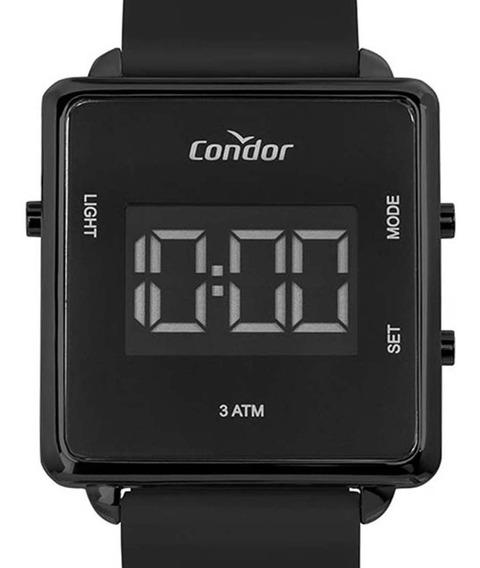 Relógio Condor Digital Feminino Cobjf156ag/2p Preto C/ Nfe