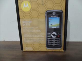 Celular Motorola W218 Camera Radio Carregador Op Claro
