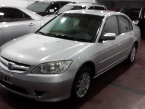 Honda Civic 1.7 Lx Mt 2006 Gris Plata