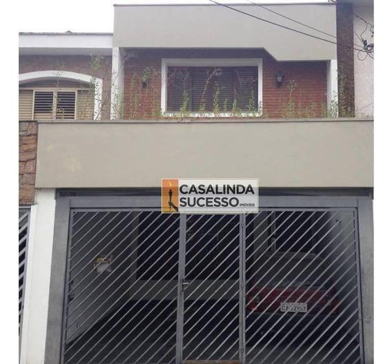 Sobrado 145m² 3 Dormts 2 Vagas Próx Shopping Anália Franco - So0383 - So0383