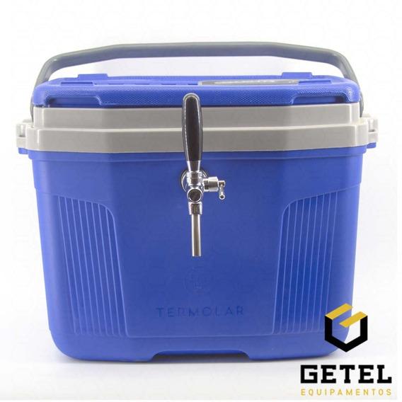 Chopeira A Gelo 1 Via Azul - Torneira Italiana Aço Inox