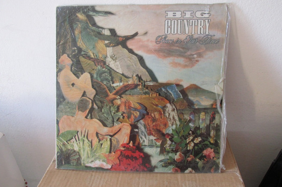 Lp Big Country-peace In Our Time 1988.