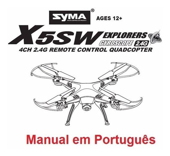 Manual Em Português Do Drone Syma X5sw