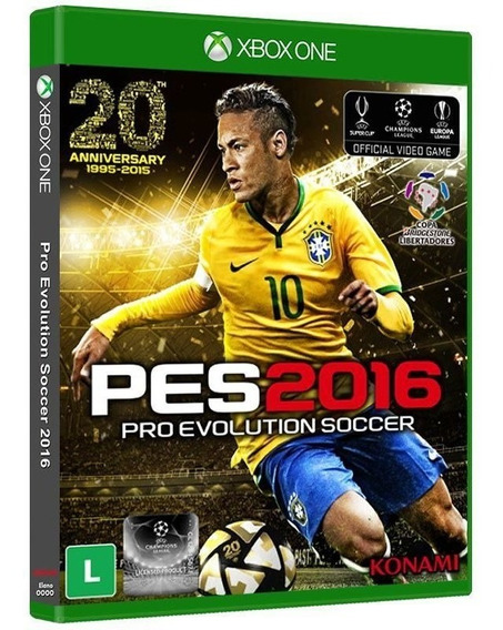 Pes 2016 Pro Evolution Soccer - Xbox One - [ Mídia Física ]