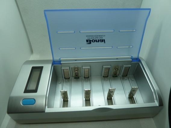 Cargador Universal Bonai P/baterias Recargable Aa/aaa/d/c/9v