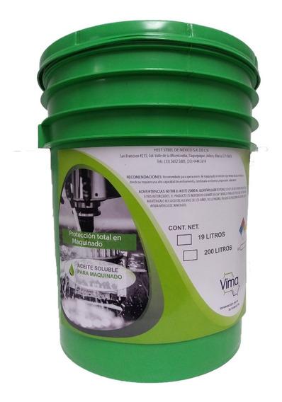 Aceite Soluble Para Corte Cubeta De 19 Lt Vimalub