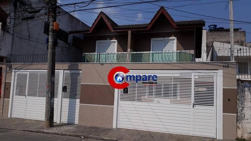 Sobrado À Venda, 85 M² Por R$ 375.000,00 - Bonsucesso - Guarulhos/sp - So0417