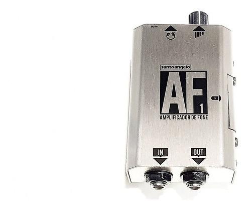 Amplificador De Fones  Santo Angelo Af1 Prata
