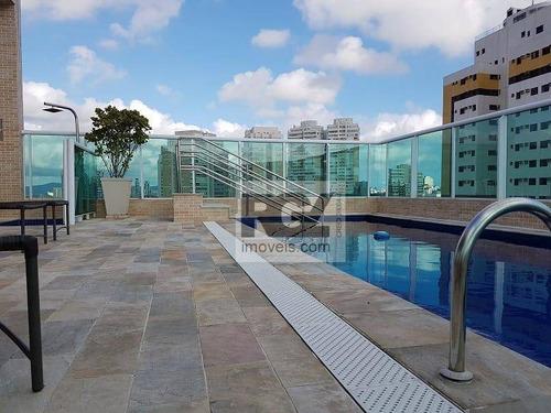 Apartamento Com 1 Dormitório Para Alugar, 51 M² Por R$ 2.700,00/mês - José Menino - Santos/sp - Ap7504