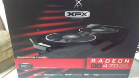 Placa De Vídeo Xfx Amd Rx 470 4gb Dual Fan